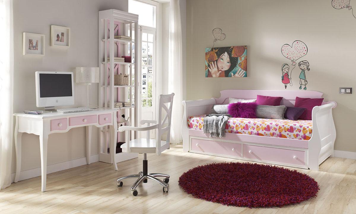 Dormitorios juveniles artemader artemader for Habitaciones juveniles chica